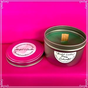 Fresh Cucumber Scented Soy Candle